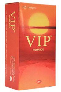 קונדומים על בסיס טבעי   VIP ROMANCE